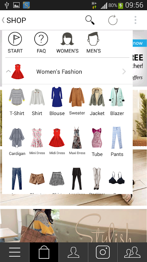 FaveChic Social + Fashion Shop- screenshot