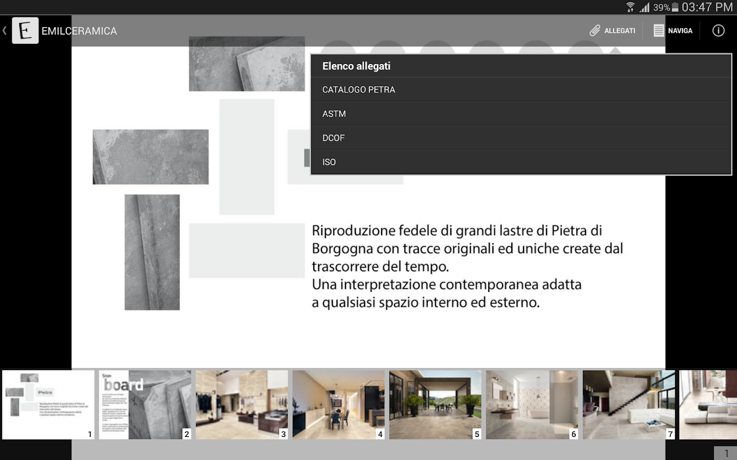 EMILCERAMICA- screenshot