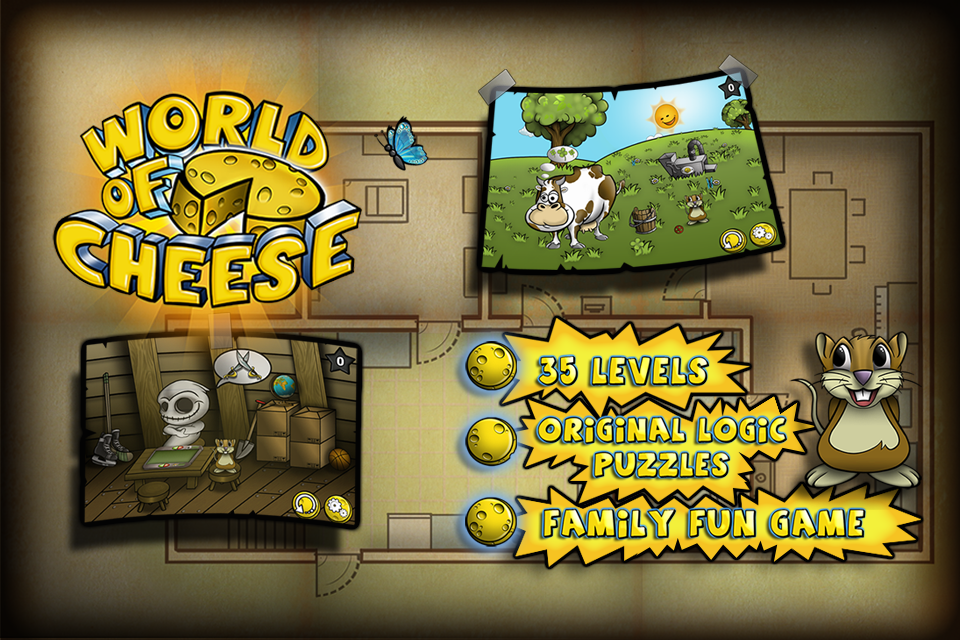 World of Cheese - screenshot