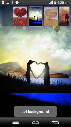 玩娛樂App Romantic Hearts Live Wallpaper免費 APP試玩