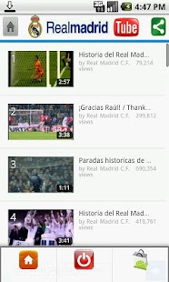 Real Madrid Tube - screenshot thumbnail