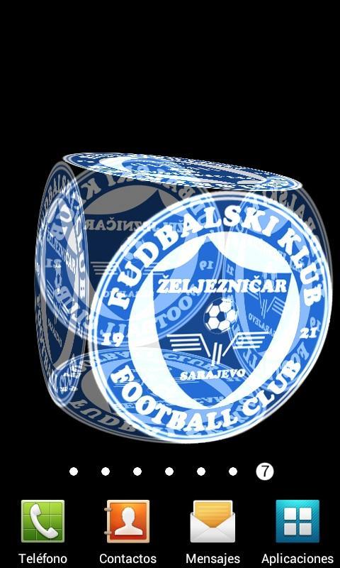 3D Zeljeznicar Sarajevo LWP - screenshot