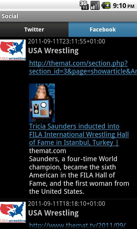 USA Wrestling - screenshot