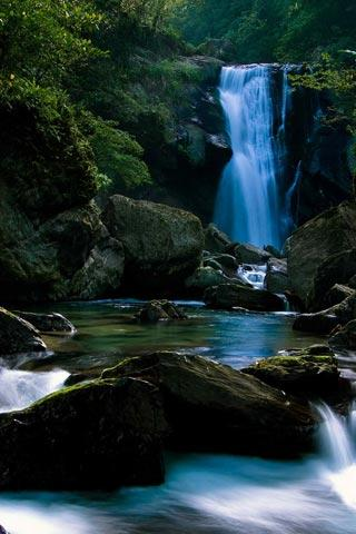 3D Waterfall wallpaper - screenshot