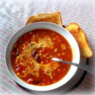 Tomato and Bean Soup.