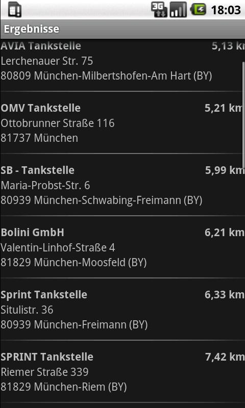 LPG Tankstellen Finder Light - screenshot