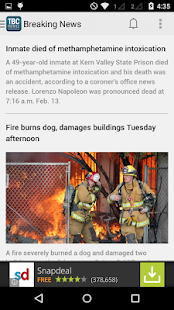 The Bakersfield Californian - screenshot thumbnail