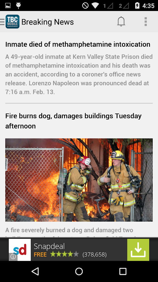 The Bakersfield Californian - screenshot