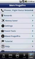 Screenshot of Frugal Pro
