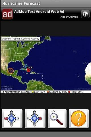 Hurricane Watch - screenshot