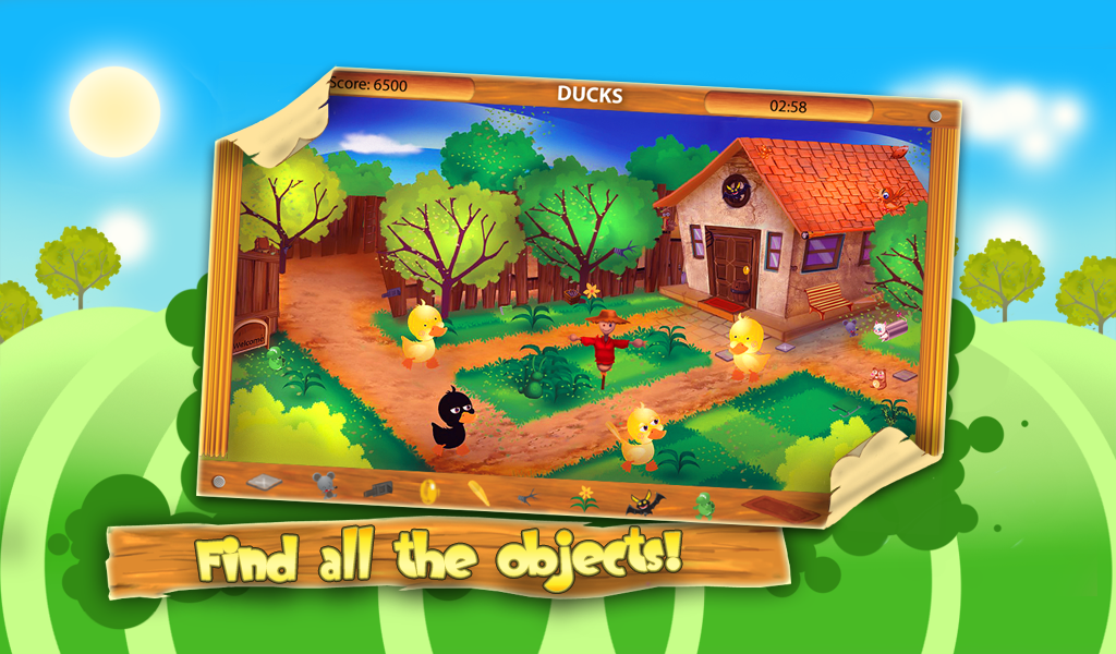 Hidden Objects: Animal Farm - screenshot