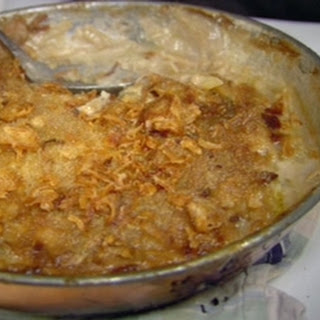 Creamy Vegetable And Fish Gratin
