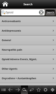 Pain Management pocketcards - screenshot thumbnail