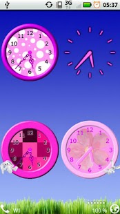 How to install Girly Pink Clocks Widget 2.0.0 apk for bluestacks