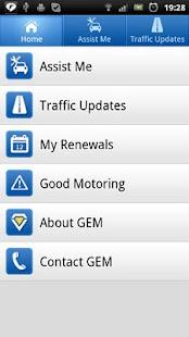 GEM Motoring Assist- screenshot thumbnail