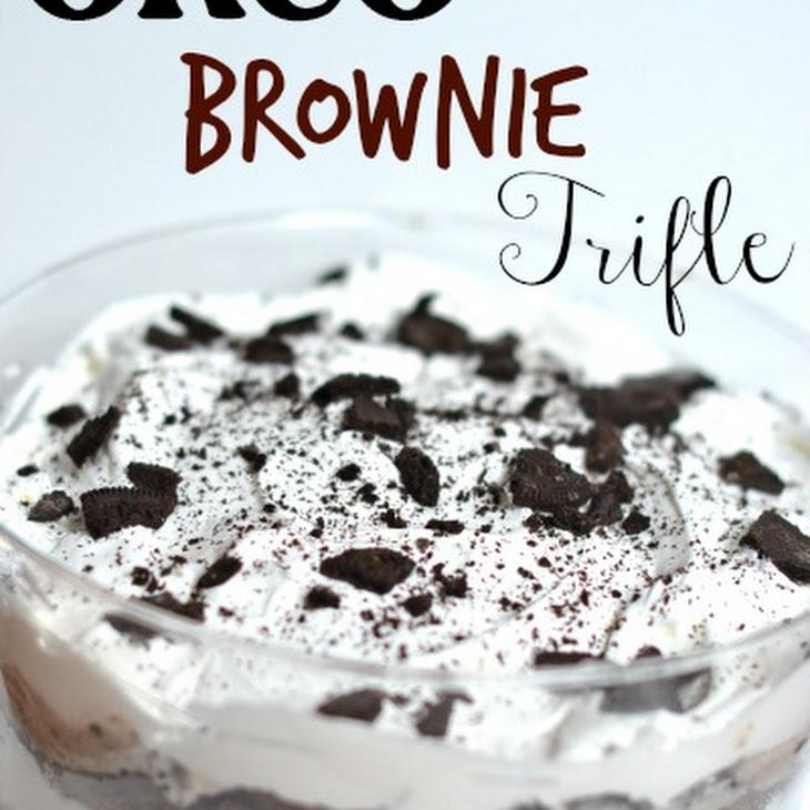 Hot Fudge Oreo Trifle Recipe
