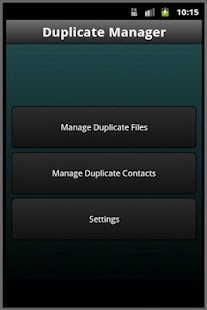 Duplicate Manager- screenshot thumbnail
