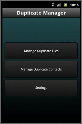 Duplicate Manager- screenshot