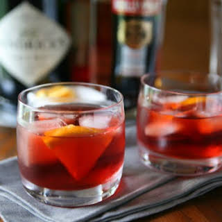 Classic Negroni Cocktail  (Version 1).
