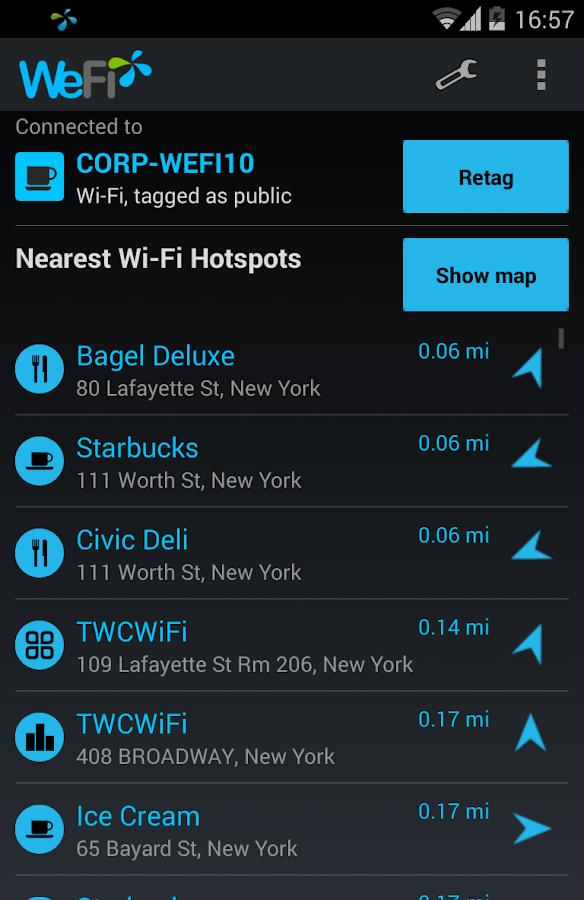 WeFi Pro - Automatic WiFi - screenshot