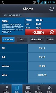 Warsaw Stock Exchange - screenshot thumbnail