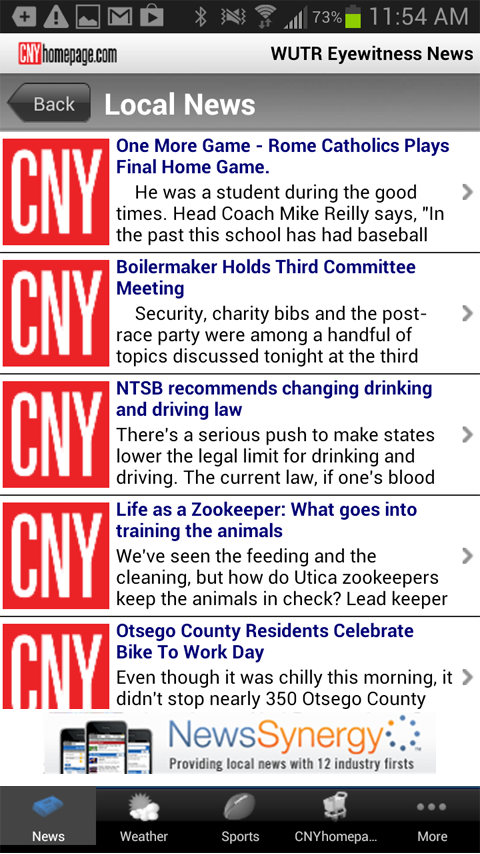 CNYhomepage - Eyewitness News - screenshot