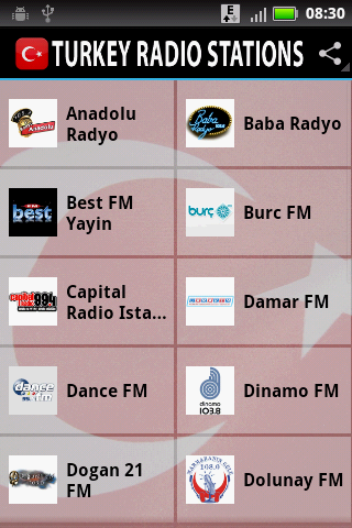 Turkey Radio Stations