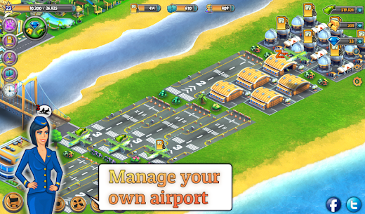 City Island: Airport ™ 2.5.0 MOD (Unlimited Money/Gems) 5