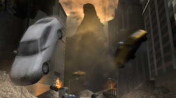 Screenshot of Godzilla: Strike Zone