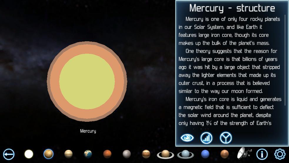 Solar System Explorer - screenshot