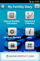 Screenshot of My Fertility Diary - IVF Rx
