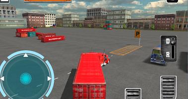 Screenshot of 18 Wheels Truck Driver 3D