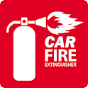 Car Fire Extinguisher icon