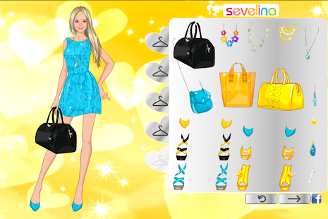 Sunny dress up game for girls android apps on google play - Sevelina games ...
