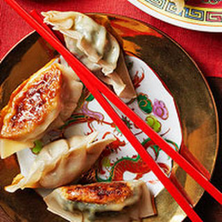Chinese Dumpling with Pork & Scallion Filling