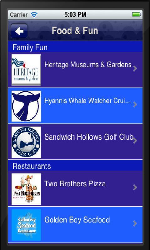 Cape Cod Challenge Cup- screenshot