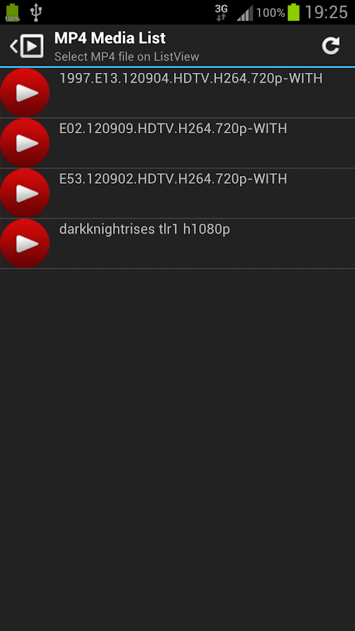 MP4 Video Player For Android - screenshot