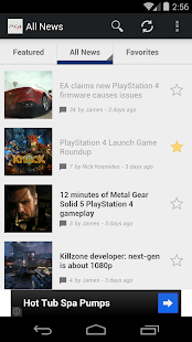 News for PS4- screenshot thumbnail