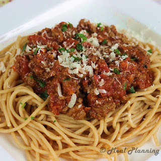 Crockpot Spaghetti Sauce with Meat.