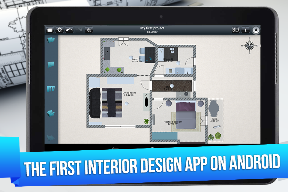Home design 3d freemium android apps on google play Design my bedroom app