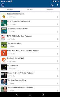 Joyride: Podcast Player - screenshot thumbnail