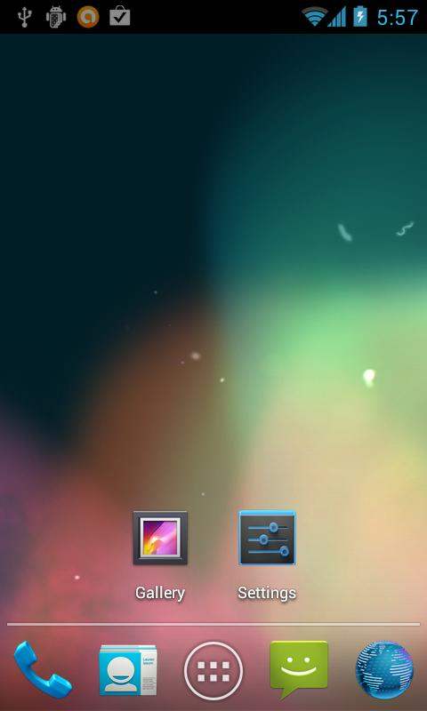Jelly Bean Live Wallpaper Lite - screenshot