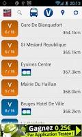 Screenshot of Transports Bordeaux