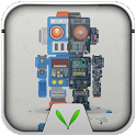 Robot Bobby Live Locker Theme icon