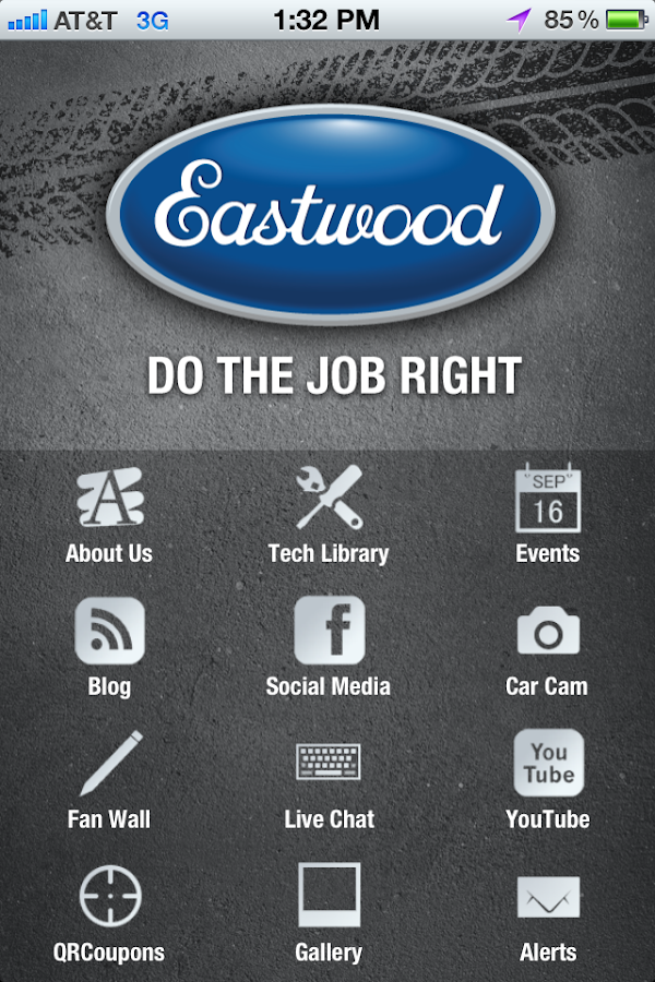The Eastwood Company App- screenshot