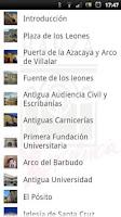 Screenshot of AudioGuia Baeza, España