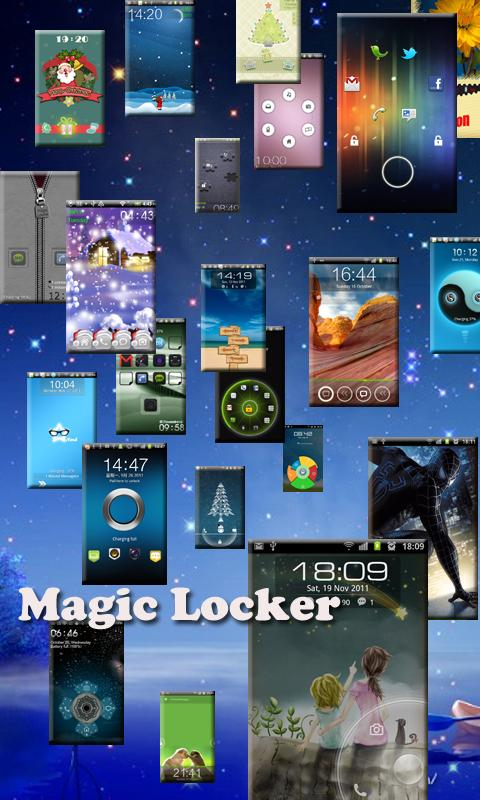 Twins free Magic Locker Theme - screenshot