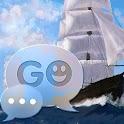 GO SMS Pro Theme Sea Ship Buy icon