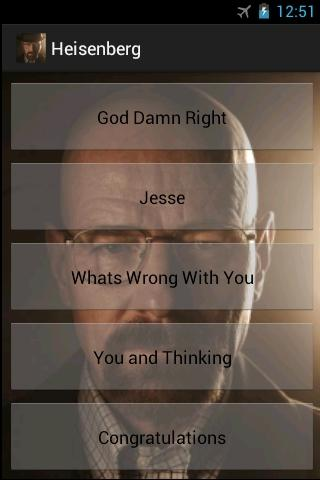 Walter White SoundBoard - screenshot