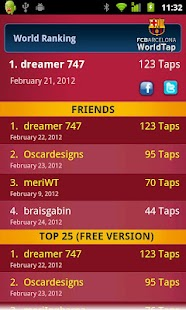FC Barcelona WorldTap Free - screenshot thumbnail